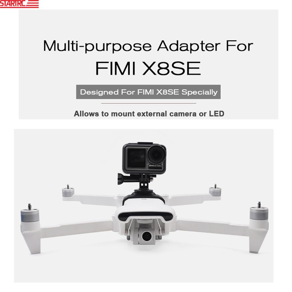 FIMI X8 SE Multi-purpose Adapter Camera /LED Lights Fixed Bracket Adapter For FIMI X8 SE Drone Accessories