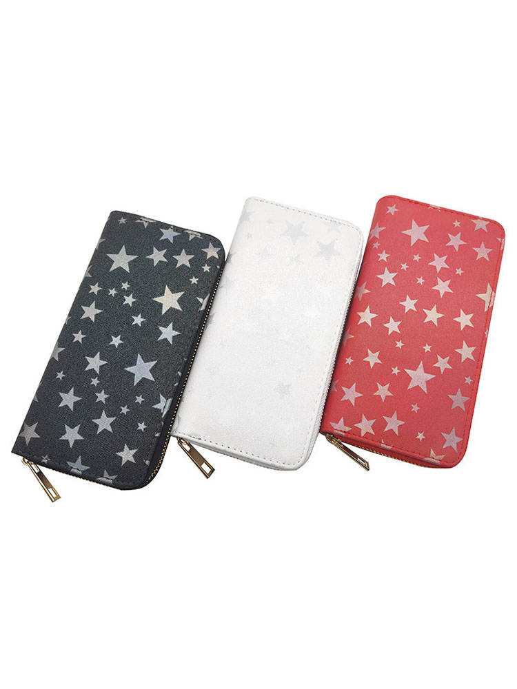 Wallet Clutch Purses Star Card-Holder Phone-Bag Zipper High-Quality KANDRA New Female