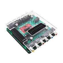 Bitfunx SCART/RGBS to YCBCR/S video Converter for Retro Games Console DC Dreamcast Mega Drive SFC PS2