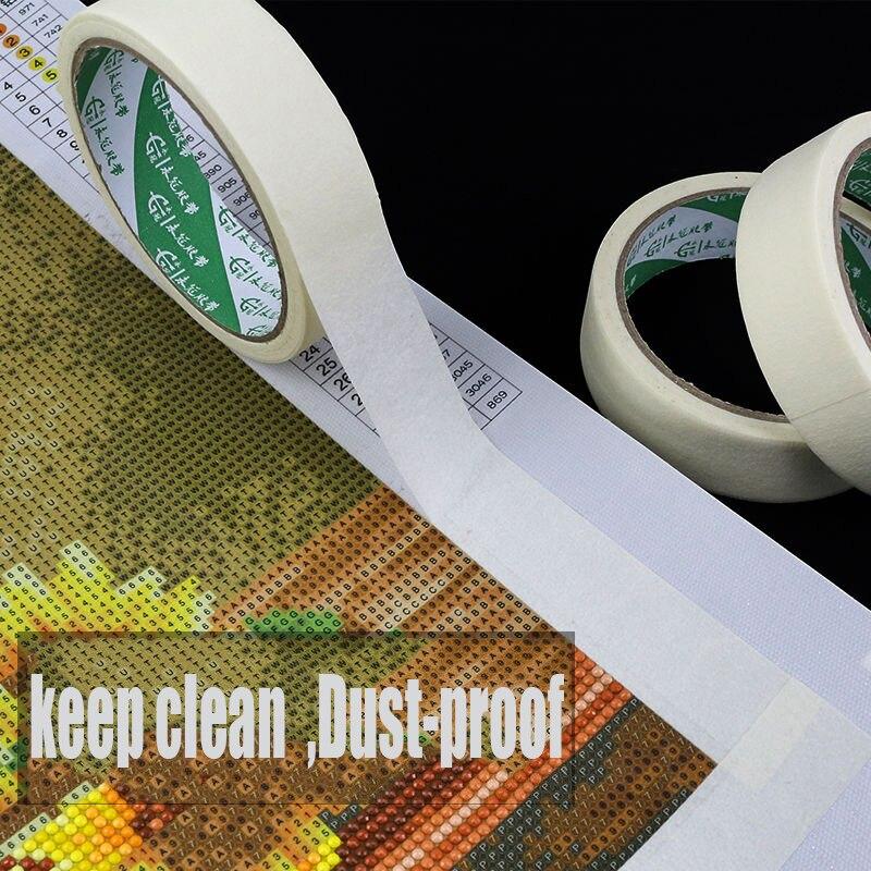 Diamond Painting Anti-dirty Tape Adhesive Edges Sticker DIY Tools Diamond Embroidery accessory Diatom mud art sketch tape