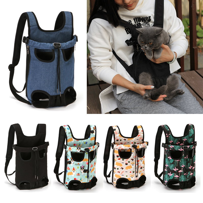 Pet Dog Carrier Backpack Cat Puppy Outdoor Travel bag Breathable Mesh Pet Carrying for Small Dog Cat Chihuahua Chest package