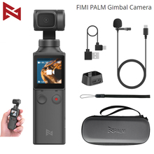 FIMI PALM 3 Axis Handheld Gimbal Stabilizer with 4K Smart Camera 128° Wide Angle 120g Wi Fi Control Suction Cup Extension Holder