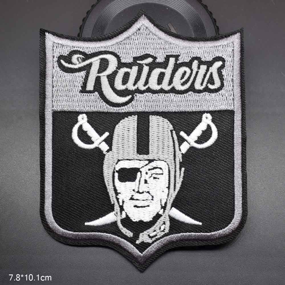 One Eye Man Raiders Lovely Girls Iron On Embroidered Clothes Patches For Clothing Stickers Garment Wholesale