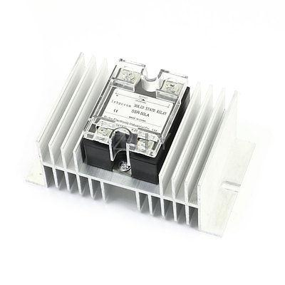 4-20mA Input AC28-280V 50A Output One Phase Aluminum Heatsink Solid State Relay