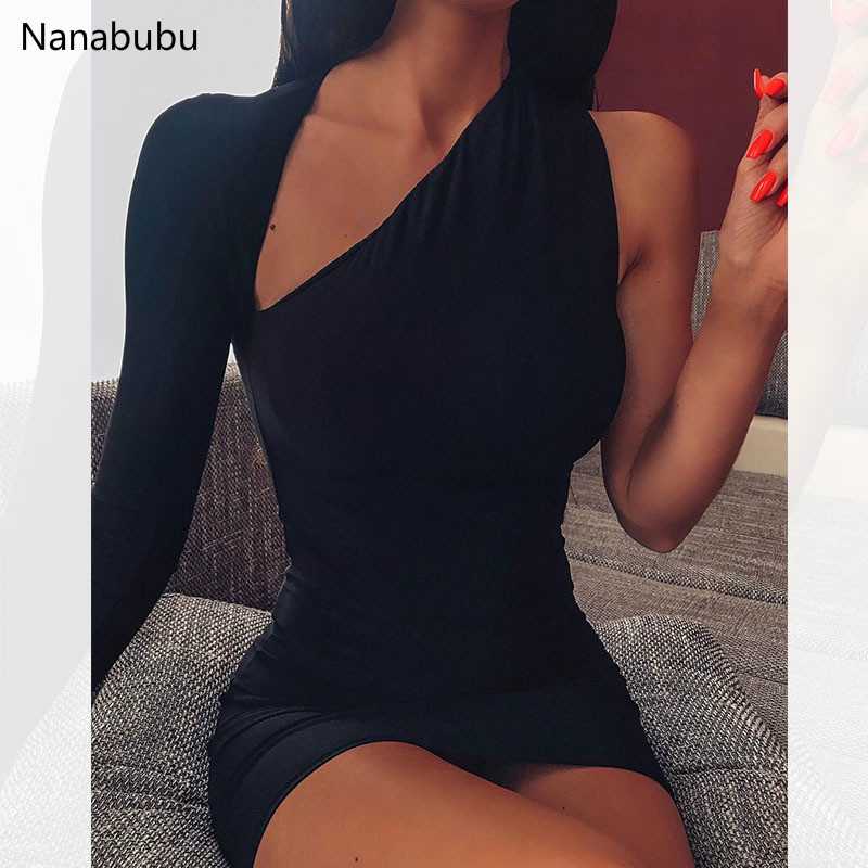 Nanabubu Neon Bandage <font><b>Sexy</b></font> <font><b>Dress</b></font> <font><b>Club</b></font> Wear Summer <font><b>2019</b></font> Streetwear Women Celebrity <font><b>Runway</b></font> Party <font><b>Dresses</b></font> <font><b>Mini</b></font> Bodycon <font><b>Dresses</b></font> image