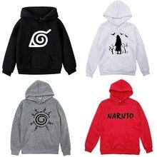 Naruto impresso meninos meninas crianças hoodie casual crianças hoodies de algodão moletom com capuz roupas esportivas para crianças