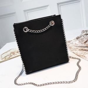 2020 новая стильная декоративная сумка для покупок Toth женская сумка повседневная сумка через плечо большая сумка на цепочке Бостонская сумка