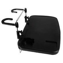 Маленький настольный Складной автомобильный Настольный держатель на заднее сиденье для планшета, сиденье со спинкой, задний прочный складной поднос