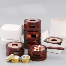 Warmer Wax Sticks Melting Glue Furnace Tool Stamp Wax Seal Beads Sticks Stove Pot For Wax Seal Stamp Candle cheap Wood