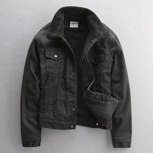 Новая модная зимняя мужская куртка высокого качества черного