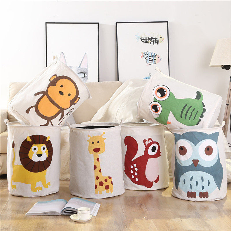 INS Nordic Animals Storage Bag Newborn Baby Room Decoration Bedding Bumpers Kids Party Girls Decor Photography Props Pacifyings