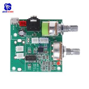 Image 5 - Diymore 5V 20W 2.1 kanałowy 3D Surround cyfrowy wzmacniacz klasy D tablica wzmacniacza moduł dla Arduino z przewodami