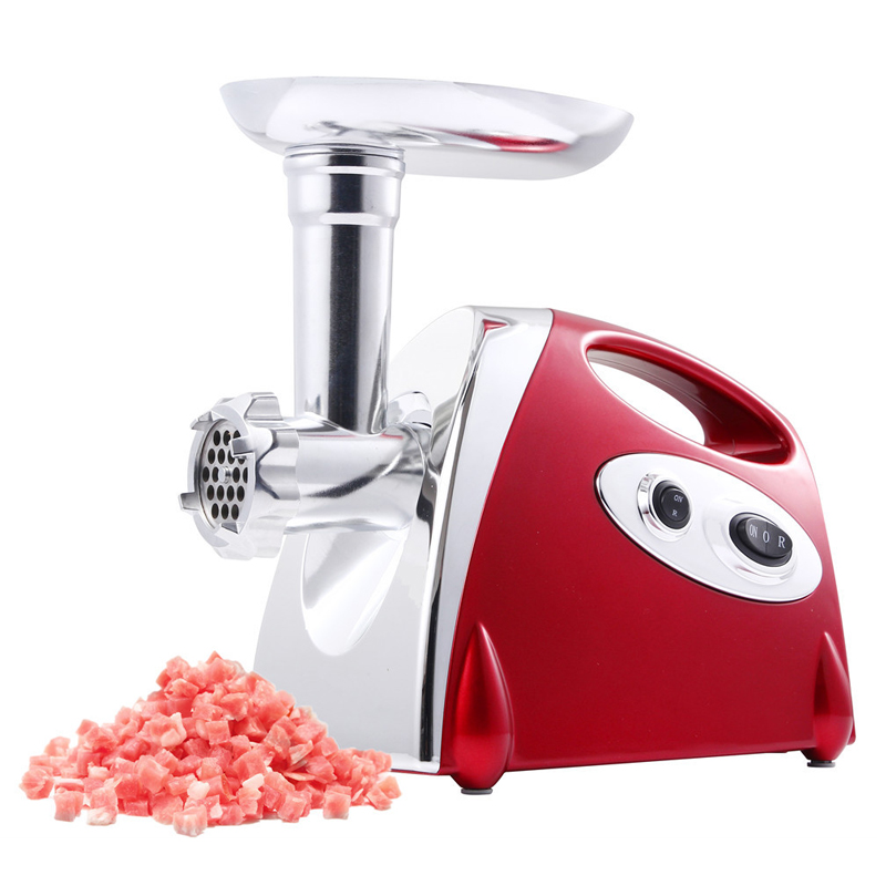 Hachoir à viande électrique domestique saucisse en acier inoxydable hachoir à viande 220 v/110 v