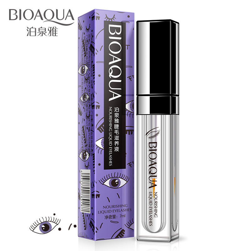 BIOAQUA Eyelash Growth Treatments Makeup Eyelash Enhancer 7 Days Longer Thicker Eyelashes Eyes Care Eyelash Enhancer Serum