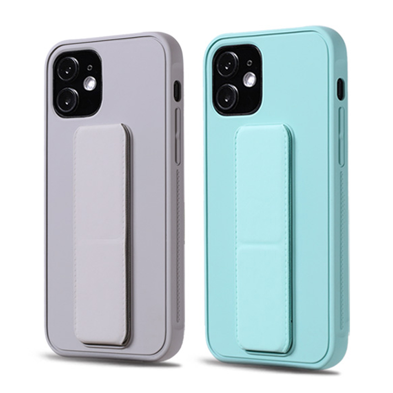 Étui de luxe pour iPhone 12 11 Pro Max Mini XS X XS XR 7 8 6 6S Plus iPhone8 iPhone7 iPhone avec housse de support assis