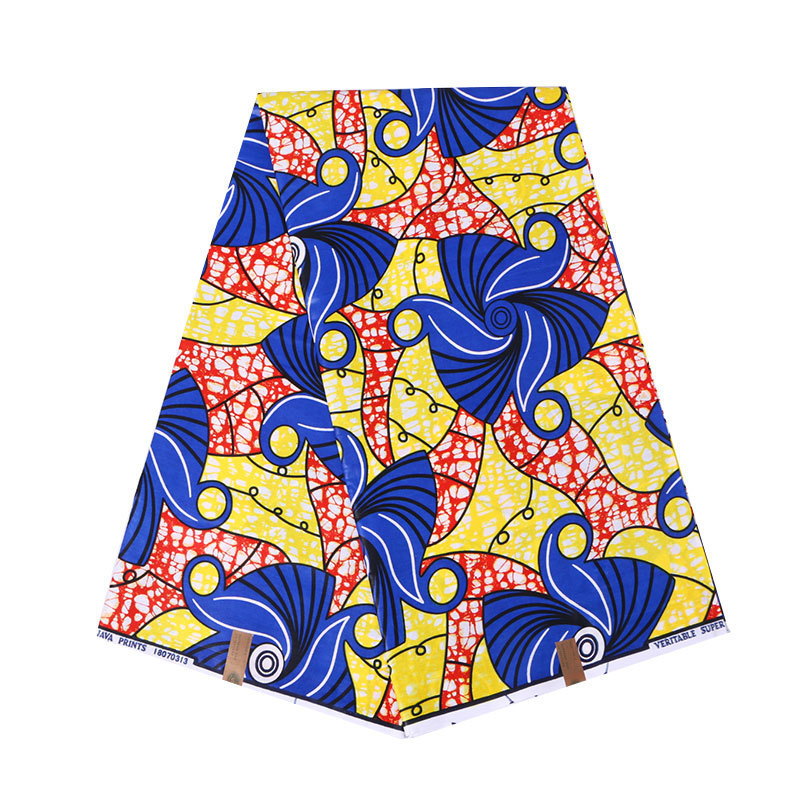 2019 New Design Colorful African Print Fabric Veritable Wax Real Dutch Wax