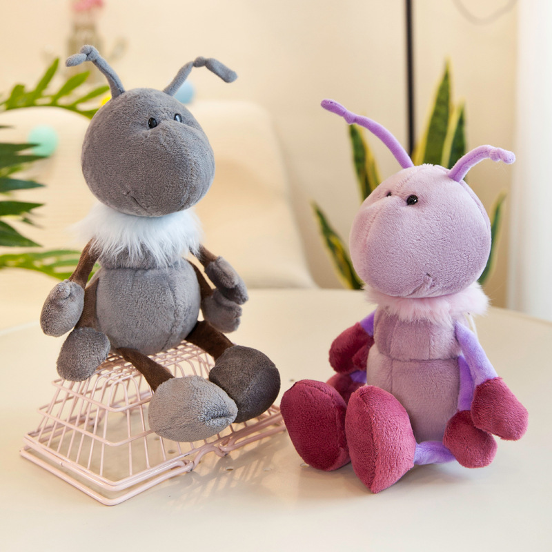 Милая плюшевая игрушка муравей 30-40 см, царство, сердца, тени, сердцебиение, муравей, мягкие игрушки-животные, куклы, мягкие игрушки для детей, ...