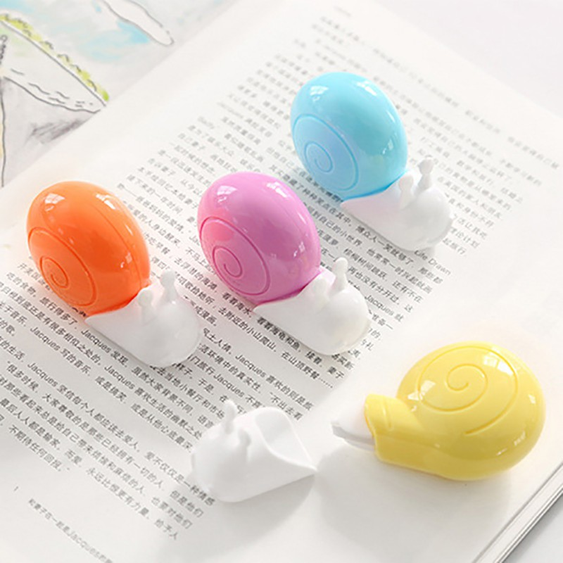 6m Cute Animal Snails Correction Tape Material Escolar Kawaii Stationery Office School Supplies