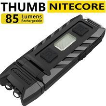 100% оригинальная заводская цена Nitecore Thumb 120 градусов наклонная USB перезаряжаемая Рабочая лампа