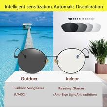 Round Filter Computer Glasses For Blocking UV Anti Blue Light