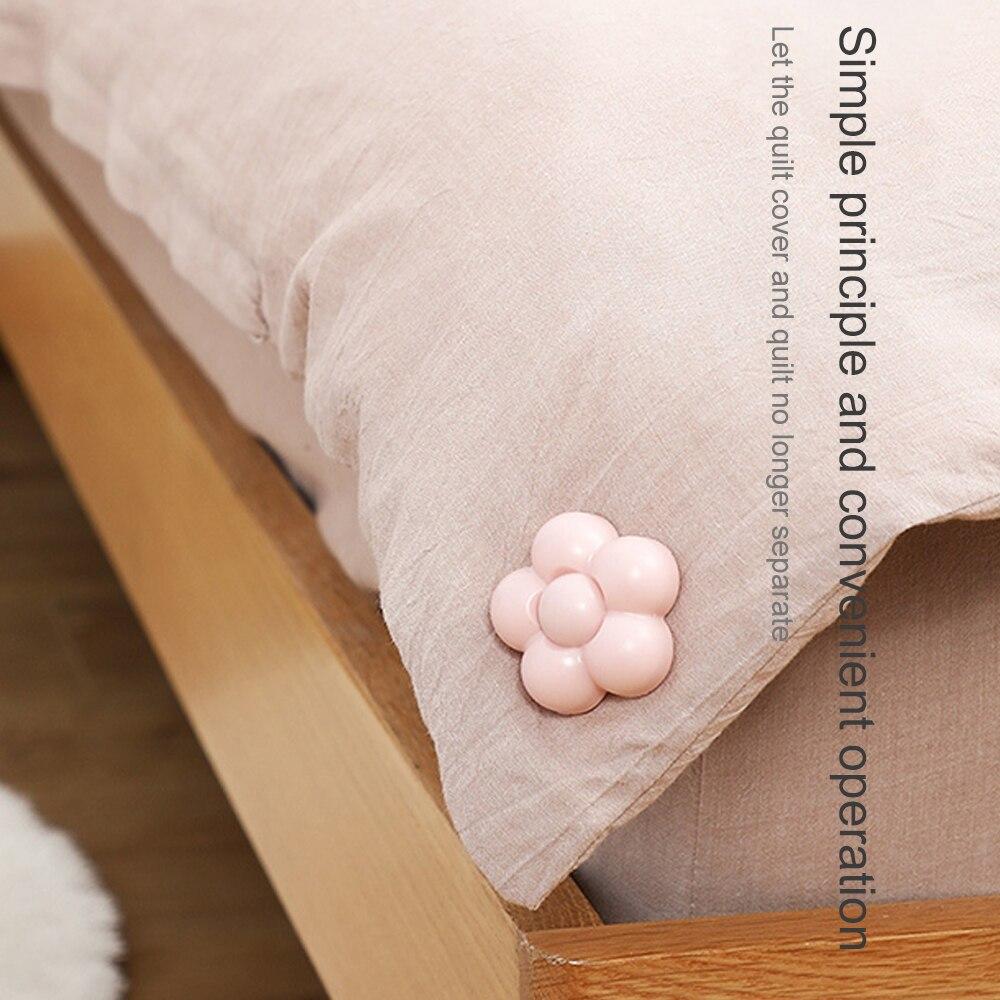 12Pcs/Set Non Slip Duvet Quilt Clips Blanket Holder Fastener Quilt Comforter Gripper Clamp Button Holder DIY Quilt Fixer|Clothes Pegs|   - title=
