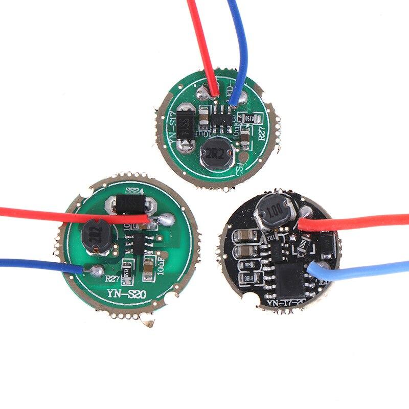 3W LED Driver 17mm/20mm DC3.7V 1 Mode 5 Mode LED Flashlight Driver 1pcs