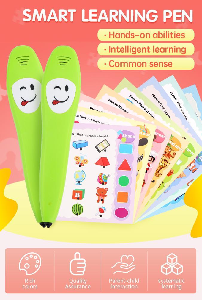 HobbyLane Kids Learning Machine Common Sense Cognitive Intelligence Logic Learning Pen Educational Toy