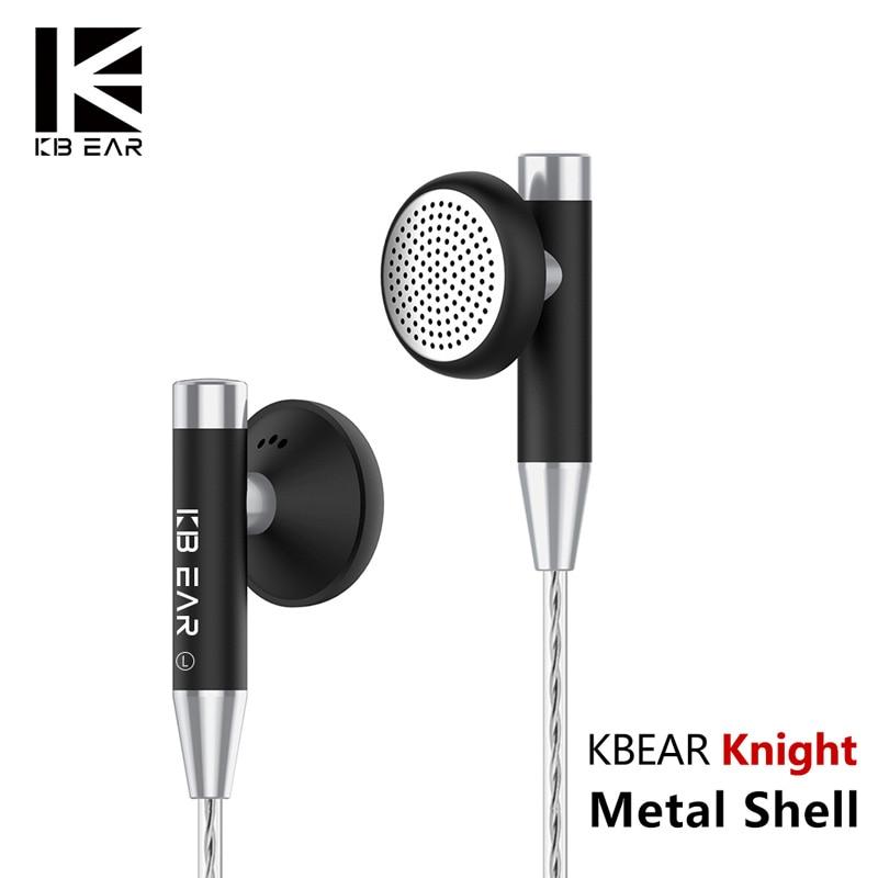 Kbear Knight Flagship Earbud 15.4mm Dynamic Driver Headset HIFI Metal Earphone Flagship Earbud KB06