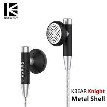 Kbear Knight Flagship Earbud 15.4mm Dynamic Driver Headset HIFI Metal Earphone F