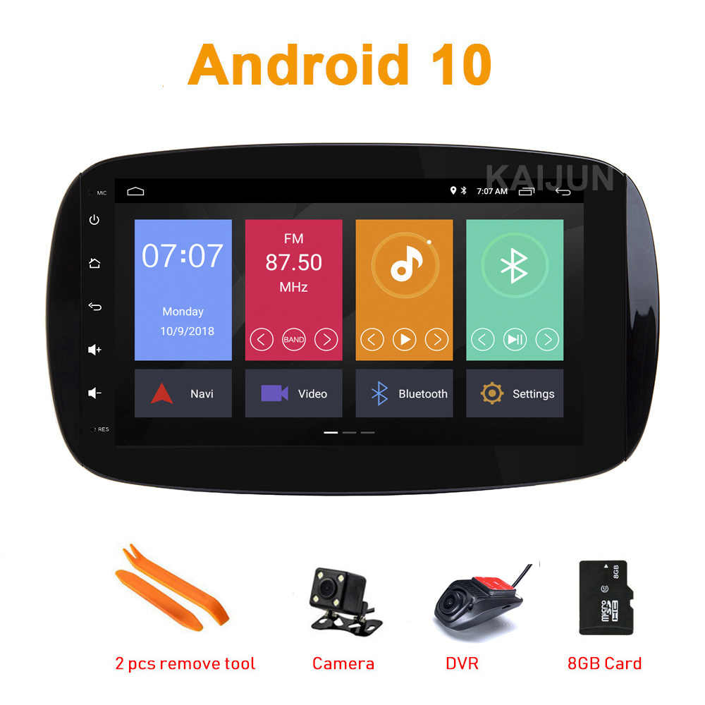 "DSP 9 ""Android coche GPS estéreo radio medios para Mercedes Benz Smart Fortwo C453 A453 W453 2015, 2016, 2017, 2018"