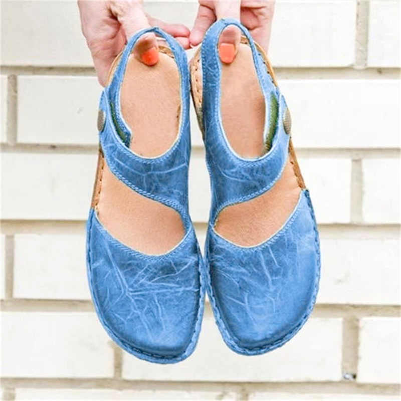 Người Phụ Nữ Dép Nữ Mary Jane Thời Trang Phẳng 2020 Mùa Hè Nữ Thể Thao Thông Thường Giày Nữ Giày Nữ Plus Kích Thước 34-43
