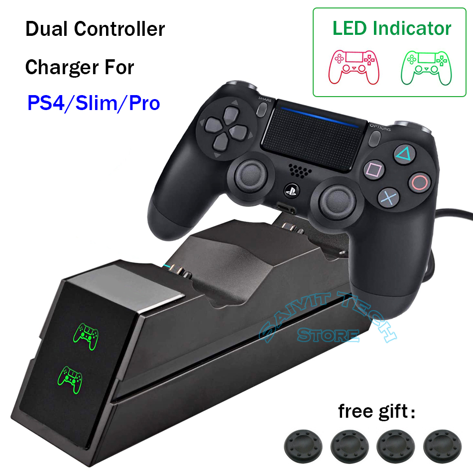 Wireless Controller Fast Charger Stand for Playstation 4 PS4/SLIM/PRO Dualshock PS 4 PRO Game Pad Joystick Charging Dock Station