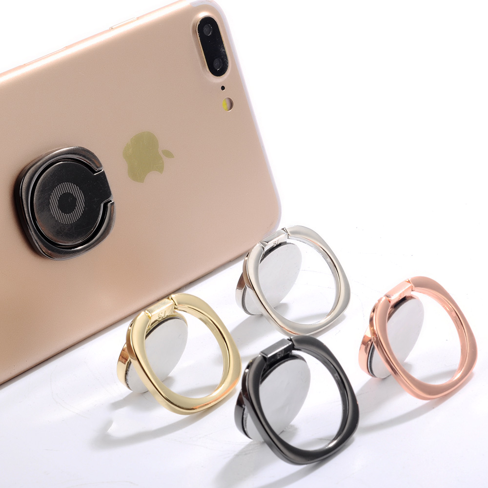 General Metal Finger Ring Holder Stand For Xiaomi Samsung S9 S8 360 Degree Thin Mobile Phone Ring Holder For iPhone X 8 7 6 5sSE