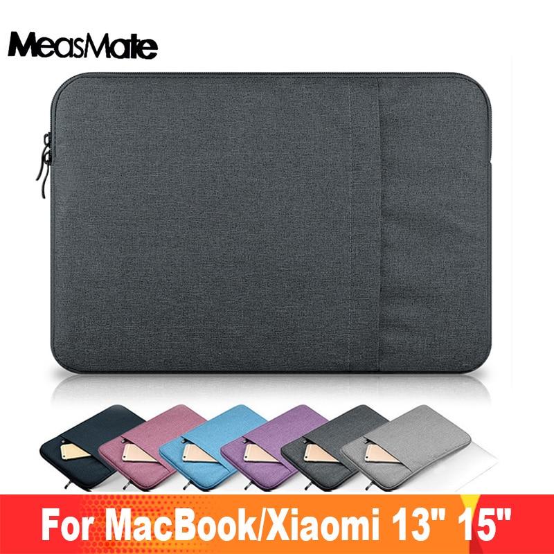 "Laptop Sleeve Bag Case for Apple Macbook Pro 13"" 15 A1707 A1708 Nylon Laptop Sleeve Bag for Mac book Air 13.3 Bag for Xiaomi"
