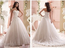 Vestido de noiva Real sample lace appliques sweetheart 2018 hot sale High quality bridal gown mother of the bride dresses