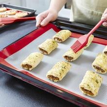 Rolling Dough Mat Baking Mat Pad Sheet Non-Stick Bakeware For Cake Cookie Macaron Tools