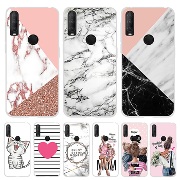 For Alcatel 1S 3L 2020 Case Soft TPU Silicone Coque For Alcatel 1S 3L 2020 Cover Marble Funda For Alcatel 1 S 3 L 2020 Bumper bolomboy painted case for alcatel 1c case silicone soft tpu cases for alcatel 1c 5009d cover wildflowers cute animal bags