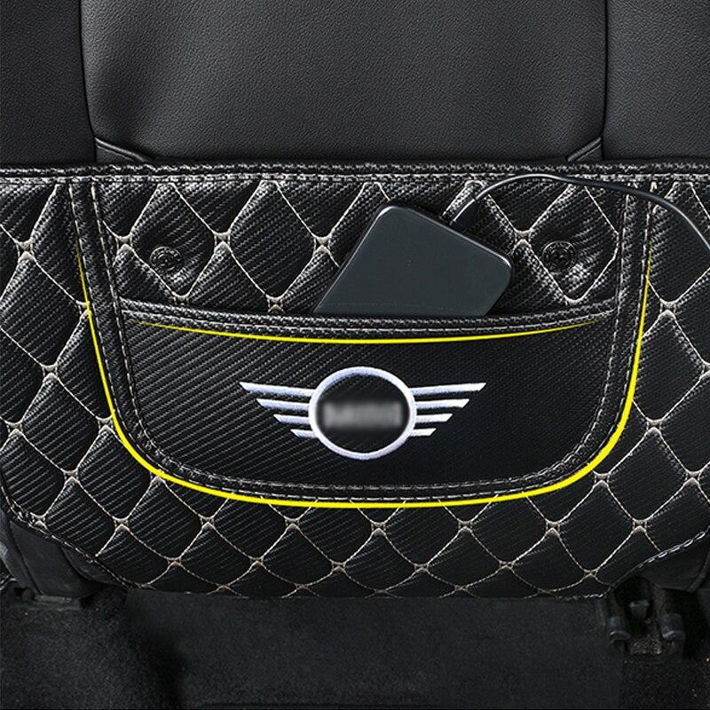 Детское автокресло, анти-игровой коврик, внутренняя отделка, защитная накладка, украшение автомобиля, Стайлинг для BMW MINI Cooper S F54 F55 F56 F60