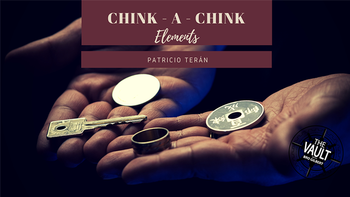 The Vault - Chink-a-Chink Elements by Patricio Teran,Magic Tricks image
