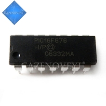 2pcs/lot PIC16F676 I/P PIC16F676 IP PIC16F676 DIP 14 New original In Stock