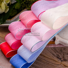 100yards 10 16 25 38mm flax organza sheer ribbon for hair bow hair clip headband accessories kids diy craft supplies цена