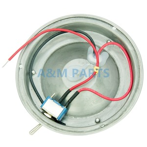 Image 3 - LED Dome Light With Switch 12V Boat Caravan Marine RV Cabin Interior Decorative Lamp Stainless Steel Housing 4.5 inch Cool White