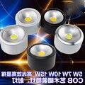 20 шт./лот с регулируемой яркостью COB 3 Вт 5 Вт 7 Вт 10 Вт Светодиодный светильник водонепроницаемый поверхностный монтаж AC85V-265V светильник для с...
