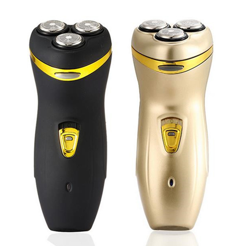 Rechargeable Electric Shaver For Men Hair Removal Waterproof Shaver Triple Blade Electric Shavers Beard Shaving Machine 40#1010