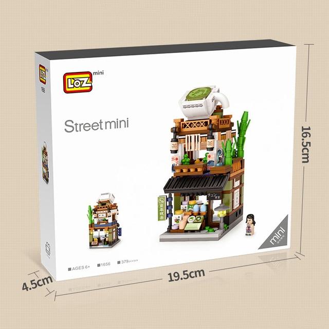 LOZ Builidng Blocks City Shop Toys Street Store Mini Bricks DIY Figure 6