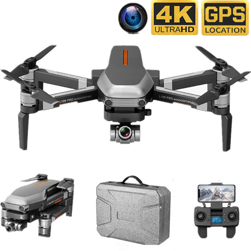 Best Pro Drone GPS 4K HD Two-Axis Anti-Shake Stable Gimbal Camera Support SD Card WIFI FPV Brushless Motor 1200m Long Distance