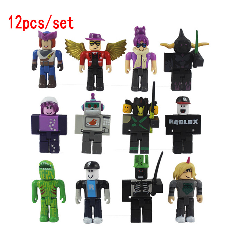 12pcs/set ROBLOX Action Figures 7cm PVC Suite Dolls Toys Anime Model Figurines For Decoration Collection Christmas Gifts For Kid