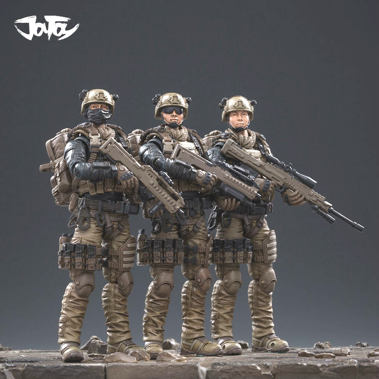 JOYTOY Military 1/18 Chinese PLA Navy Specia Force Soldiers Action Figures for Fans Collection