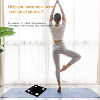 DEKO Body Fat Scale Smart Bluetooth Bathroom Weight Scale Health Monitoring Wireless Digital BMI Body Composition Analyzer