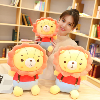 New Comftable 1PC 30/45/55CM Cartoon The Lion King Cute Stuff Plush Toy Doll Birthday Gift For Kids High-quality Lion King Doll new simulation lion toy handicraft lifelike lion doll with a small lion in the mouth gift about 50x33cm